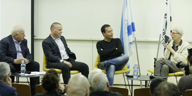 מימין: ארנה ברי, ינקי מרגלית, יזהר שי ויאיר סרוסי, צילום: עמית שעל