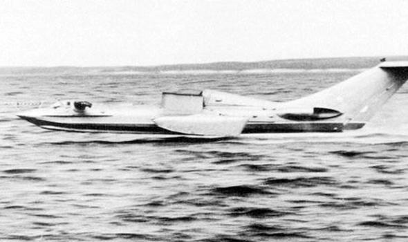 אחד מפיתוחי מטוסי אפקט הקרקע הראשונים של אלכסייב