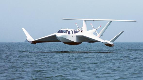 מטוס אפקט הקרקע בן זמננו