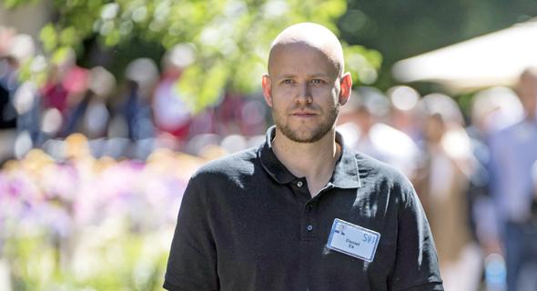 """דניאל אק מנכ""""ל ספוטיפיי 2, צילום: בלומברג"""