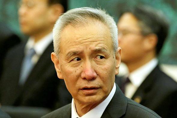 סגן נשיא סין ליו הי