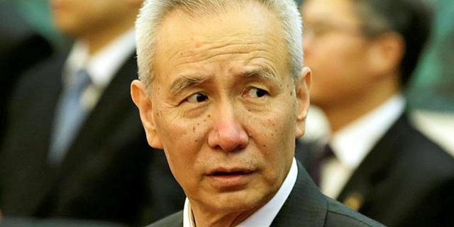 סגן נשיא סין ליו הי, צילום: רויטרס