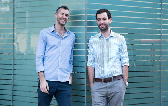 Epsagon co-founders Nitzan Shapira and Ran Ribenzaft. Photo: Epsagon PR