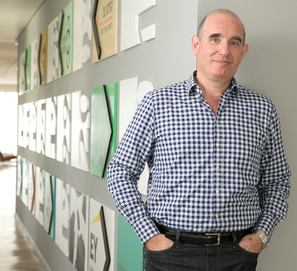 Yoram Tietz, Ernst & Young's managing partner in Israel. Photo: Orel Cohen