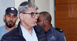מאיר תורג'מן סגן ראש העיר ירושלים ב מעצר ב בית המשפט ראשון לציון, צילום: יריב כץ