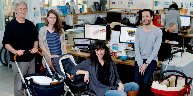 An Israeli Startup Helps Wheelchair-Bound Parents Travel Independently When Pushing a Stroller