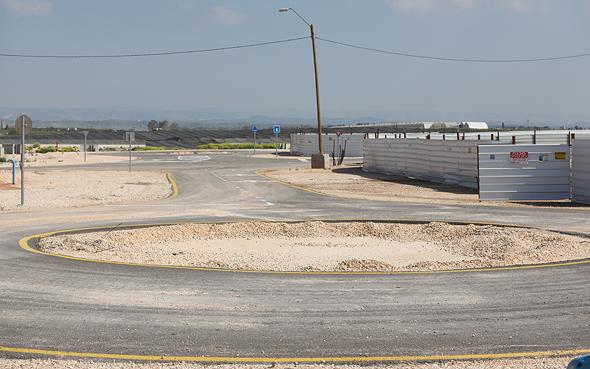 שטח פרויקט מחיר למשתכן ב גדרה, צילום: נמרוד גליקמן