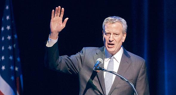 ביל דה בלאסיו, ראש עיריית ניו יורק. רוצה למשוך אליו את מיטב המוחות בתחום הסייבר