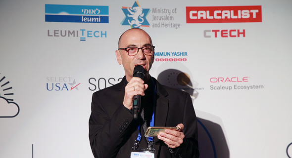 Calcalist CEO Steve Shumacher. Photo: Orel Cohen