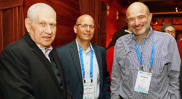 ניר למפרט, קובי הבר ודוד ברודט , צילום: אוראל כהן