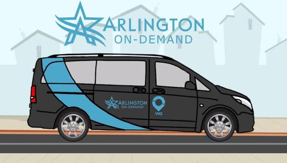 ויה מחליפה את התחבורה הציבורית בארלינגטון, טקסס, צילום: youtube