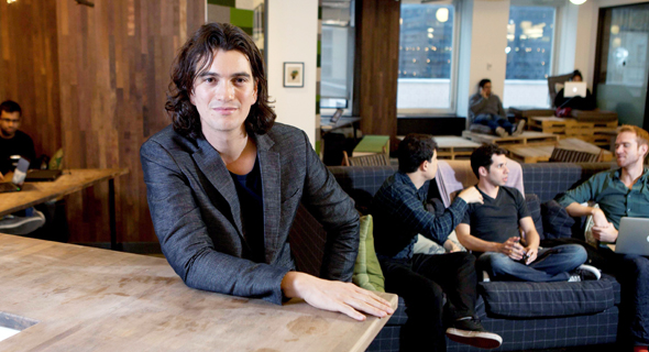 Adam Neumann. Photo: Dan Keinan