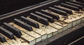 פסנתר מוזיקה קלידים נגינה , צילום: שאטרסטוק