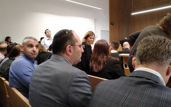 מוטי בן משה בבית המשפט בדיון על עתיד אפריקה, צילום: יניב רחימי