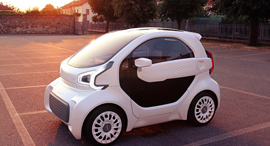 מכונית הדפסת 3D  LSEV XEV פולי מייקר 1, צילום: XEV