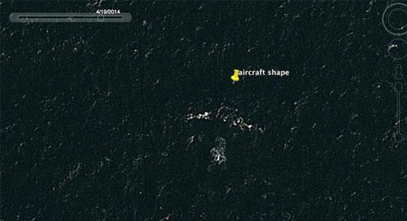 טיסה MH370 אינה עונה. האם אלו שרידי המטוס?