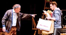 גדי יגיל ו עידו רוזנברג על הבמה פנאי, צילום: כפיר בולוטין