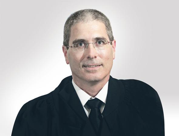"""השופט חגי ברנר.  """"הבנק הוא שגדע את העץ המצמיח את פירות הריבית"""", צילום: אתר הנהלת בתי המשפט"""