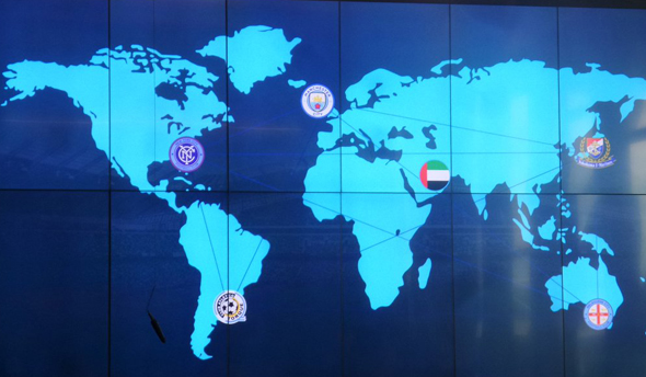 """מפת """"סיטי פוטבול גרופ"""" הגלובלית. יותר מ-2 מיליארד ליש""""ט השקעה"""