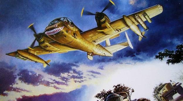 הקברניט מטוס ריגול מוהוק תצפית