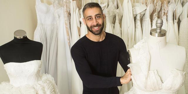 קצפת לייט: מעצב השמלות שאדי עבד משלב בין המסורתי לעכשווי