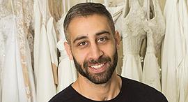 פנאי שאדי עאבד מעצב אופנה , צילום: גיל נחושתן