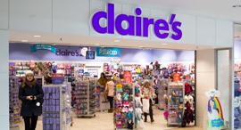 חנות claire's קלייר'ס בבריטניה, צילום: שאטרסטוק