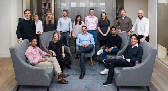 Eight Roads Ventures' Europe office team. Photo: PR