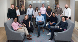 Eight Roads Ventures' Europe office team. Photo: PR