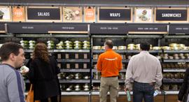 חנות אמזון גו ב סיאטל, צילום: בלומברג