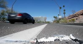 הצומת בטמפה אריזונה שבה אירעה התאונה  רכב אוטונומי מכונית אוטונומית, צילום: איי פי