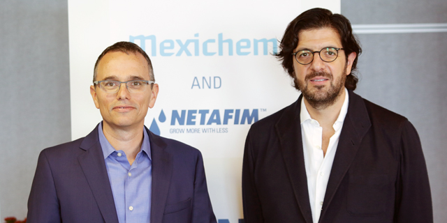 Mexichem CEO Visits Israel Following Major Drip Irrigation Acquisition