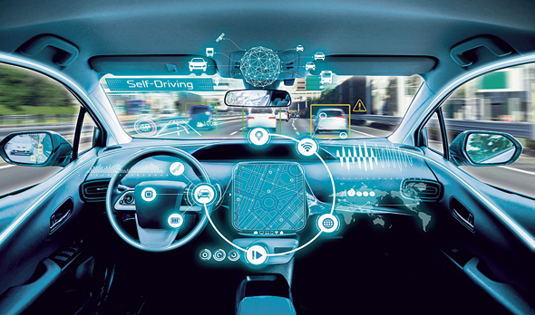 Illustration of autonomous vehicle. Photo: Courtesy