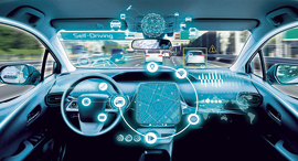 Autonomous driving. Photo: Shutterstock