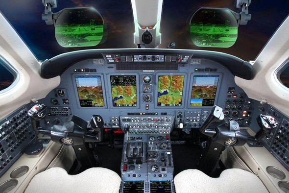 Universal Avionics. Photo: PR