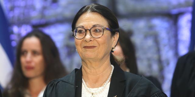 אסתר חיות נשיאת בית המשפט העליון, צילום: אלכס קולומויסקי