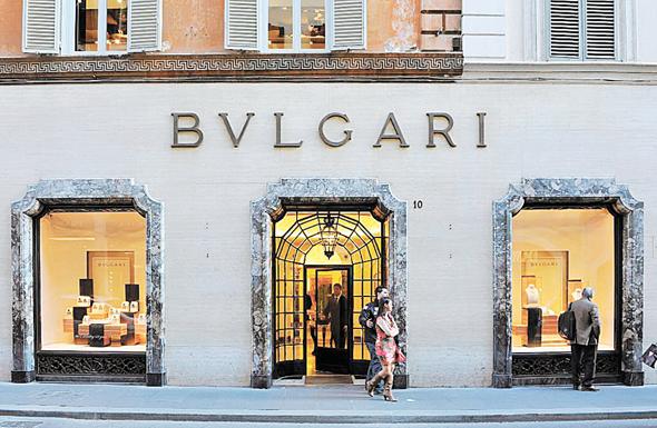 חנות התכשיטים בולגרי ברומא, צילום: בלומברג