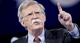 """ג'ון בולטון היועץ לביטחון לאומי של ארה""""ב, צילום: בלומברג"""