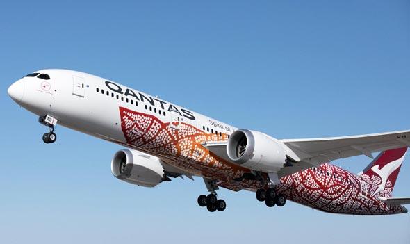 המטוס של קוואנטס שיצא מפרת' ללונדון