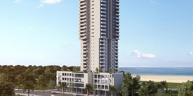 קבוצת לוינשטיין תבנה מגדל בן 45 קומות בבת ים בעלות של 179 מיליון שקל
