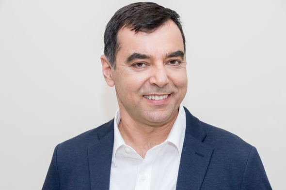Mobileye's CEO and co-founder Amnon Shashua . Photo: Yonatan Hefner