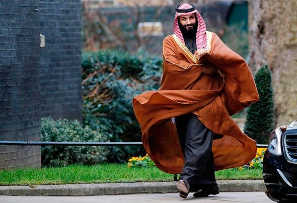 """יורש העצר הסעודי מוחמד בן סלמאן בביקור בארה""""ב"""