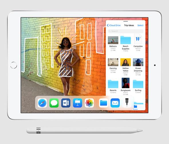אפל אייפד 2018, צילום: apple