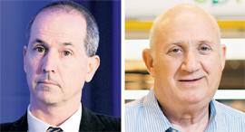 """מימין: איציק אברכהן, מנכ""""ל שופרסל ורון פאינרו, מנכ""""ל MAX, צילום: עמית שעל, אריאל שרוסטר"""
