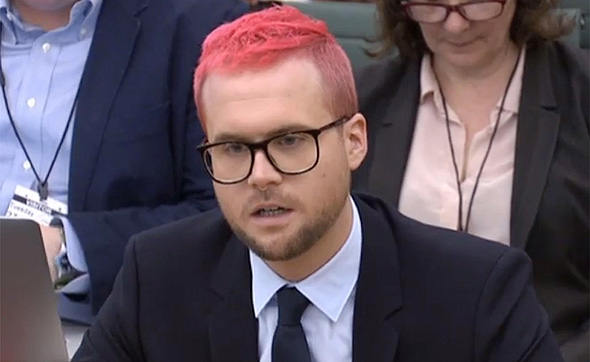 Christopher Wylie. Photo: AFP
