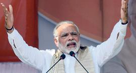 ראש ממשלת הודו נרנדרה מודי, צילום: איי.אף.פי