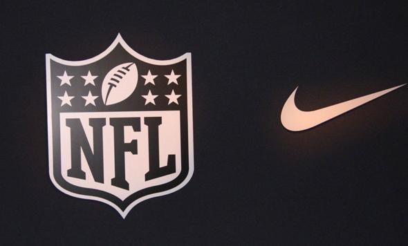 לוגו נייקי NFL ליגת ה פוטבול של ארצות הברית