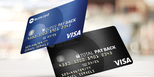 A Leumi Credit Card. Photo: Shutterstock