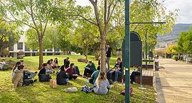 סטודנטים מכללת תל חי זירת הנדלן, צילום: המכללה האקדמית תל-חי