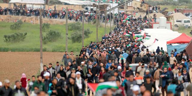 """צה״ל הרג 4 מחבלים שירו על חיילים; 11 הרוגים ב""""צעדת השיבה"""" בעזה"""